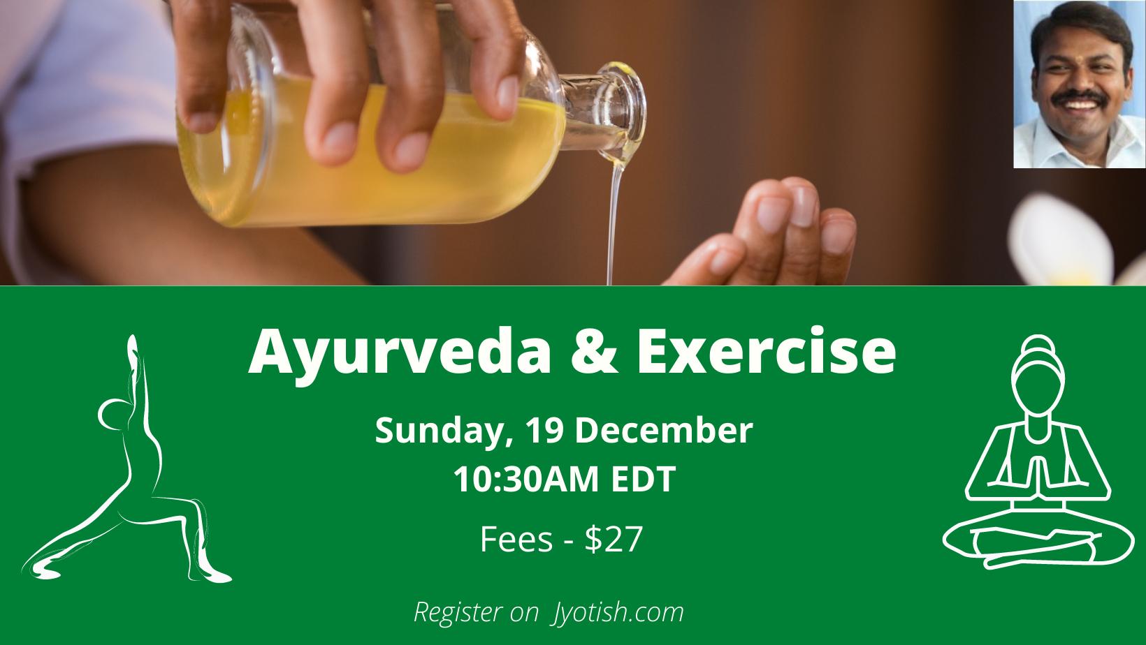 ayurveda and exercise